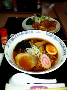 Nothing like ramen after a tiring adventure in the rain!