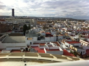 View from the top of Las Setas