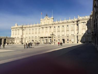 Palacio Real - not inhabited full time anymore by the monarchy, but still used for special celebrations.