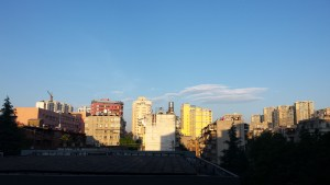 The view from my dorm room at Yunnan University - one of the things I'll miss the most!