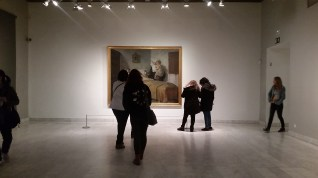 Another sneaky photo I shouldn't have taken, this time from the Picasso Museum in Barcelona.