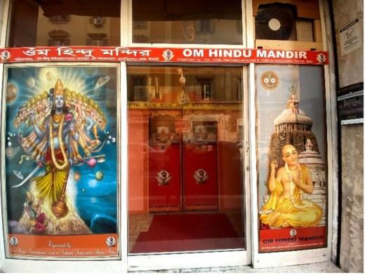 du Mandir, Hindu Temple in Rome