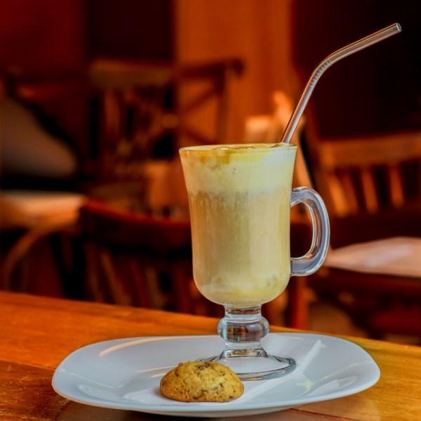 Café Gelado Sabor Do Ser