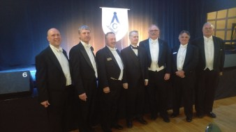 Members and guests at Templum Lucis