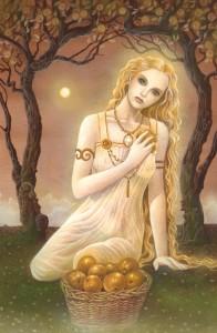 Resultado de imagem para maçã na mitologia deusa Iduna
