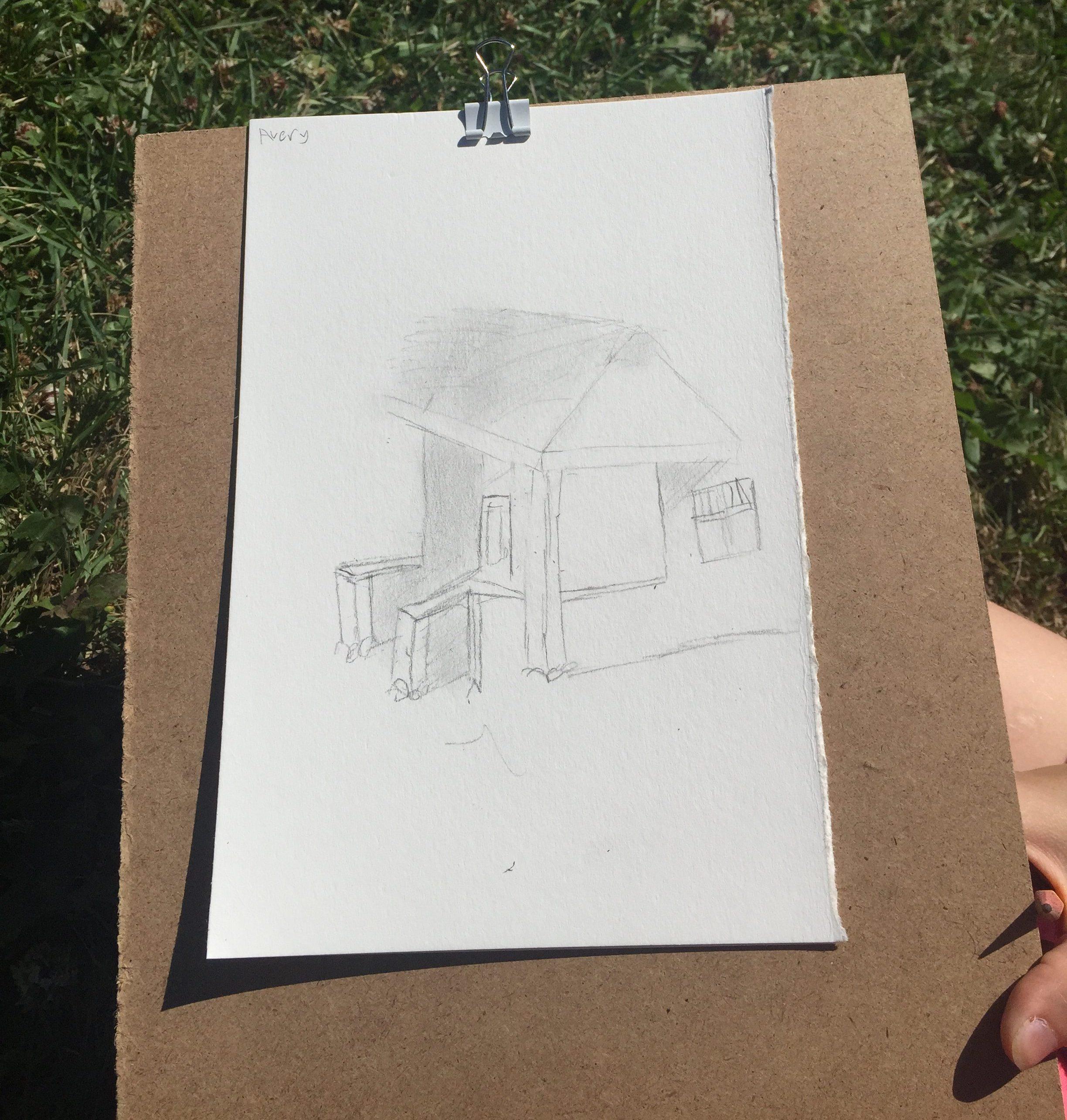 Oak Street Studios students...sketch