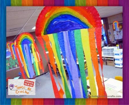Atividade arco íris festa junina