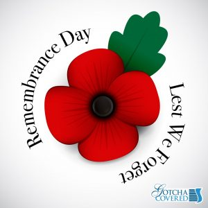 Happy Remembrance Day to everyone in Canada!