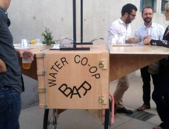 Radical Intention: Water Co-op Bar for Marfa Dialogues St. Louis