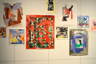 Kojo Griffin,studies on Paper, 2014, dimensions variable, collage on various papers.