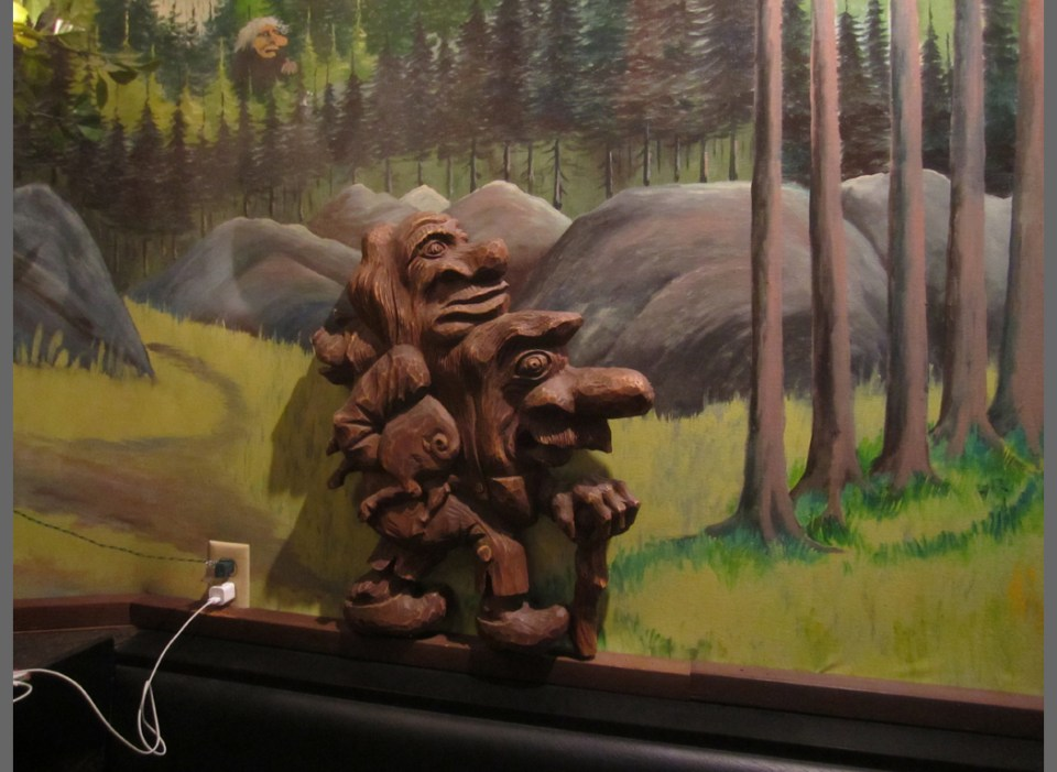 The Troll Bar in Fargo, ND, was one of the social gathering sites for the Plains Art Museum's Central Time Centric.