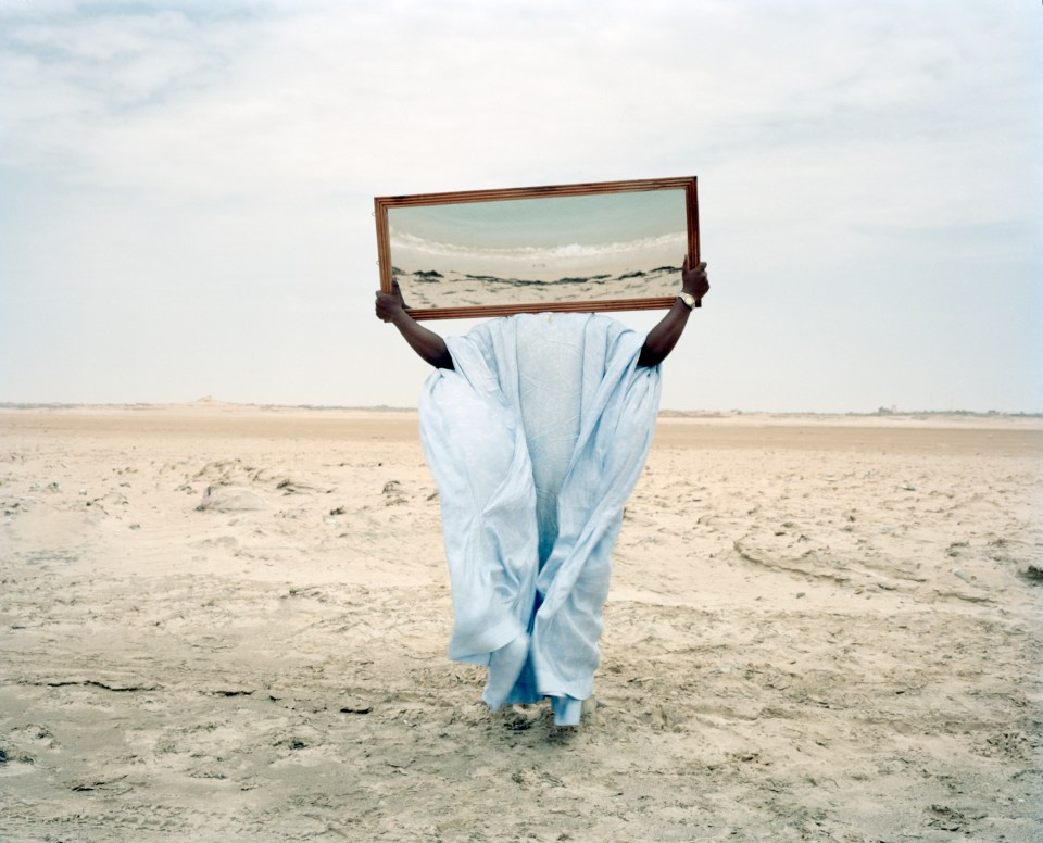Dawit L Petros, Untitled (Prologues), Nouadhibou, Mauritania, 2016, archival color pigment prints. Courtesy of the artist and Tiwani Contemporary, London.