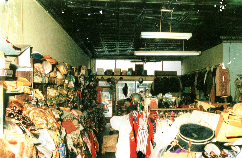 Store left by Sylvia Gray upon her passing, 1998. Photo credit Sidney Gray
