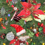 Christmas Trees of WDW Moderate Resorts