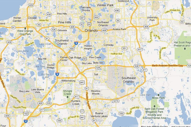 Taking The Toll Roads In Orlando And Florida Temporary Tourist