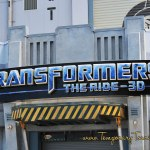 Universal Studios Transformers Exclusive Passholder Only Ride Times in June