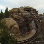 Seven Dwarfs Mine Train Car Ride at Magic Kingdom