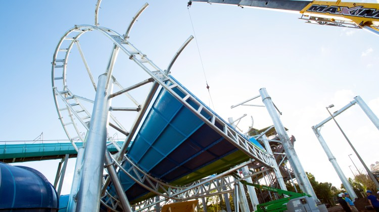AQUATICA'S RAY RUSH REACHES NEW HEIGHTS AHEAD OF SPRING DEBUT