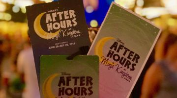 Disney After Hours at Magic Kingdom