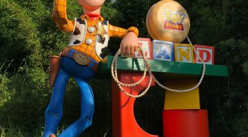 Playing Big in Andy's Backyard at Toy Story Land