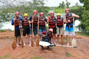 nile rafting gruppenfoto 2