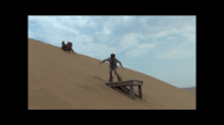 sandboarding jump c