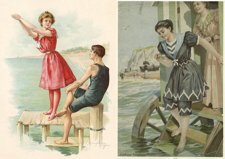 02_ Bathing in the 1900s