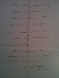 Lettre de De Gaulle à Beuve-Méry (1/2)