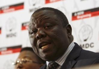 Le chef de file des opposants zimbabwéens, Morgan Tsvangirai