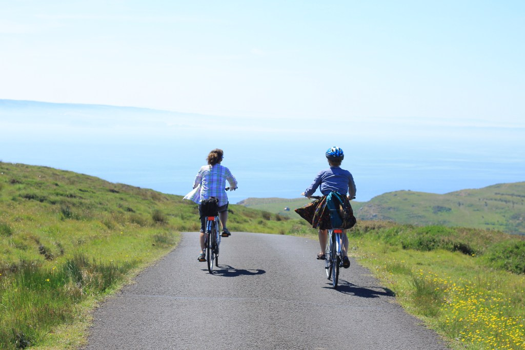 Biking across Rathlin Island is one hell of a ride! We did it and we did it together. Put a check mark by 'puffins' on your bucket list!