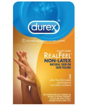 Durex Avanti  Real Feel Non Latex Condoms - Pack of 3