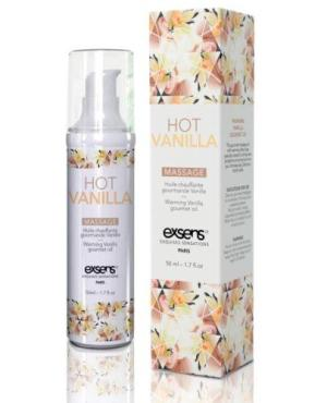 EXSENS of Paris Warming Massage Oil - Hot Vanilla