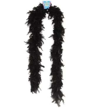 Lightweight Feather Boa - Black