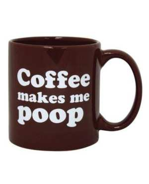 Attitude Mug Coffee Makes Me Poop - 22 oz