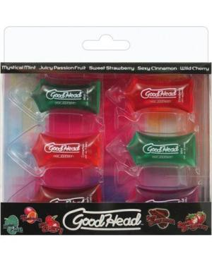 Good Head - .25 oz. Pillow Asst. Flavors Pack of 6