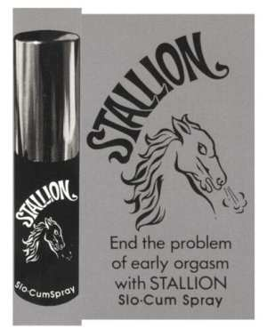 Stallion Slo-Cum Spray - .44 oz
