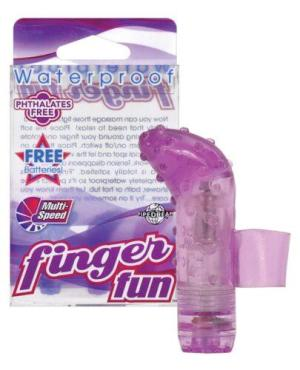 Finger Fun Waterproof - Purple