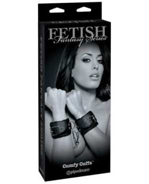 Fetish Fantasy Limited Edition Cumfy Cuffs - Black