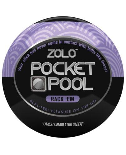 ZOLO Pocket Pool Rack Em