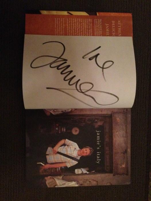 Jamie's Italian cookbook