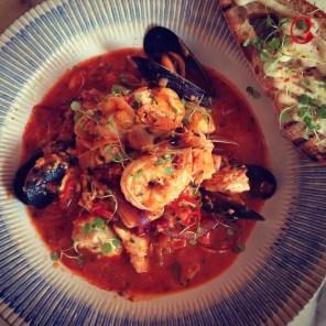 Lingurian fish stew