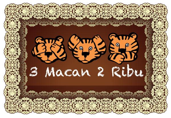 #3Macan2Ribu designed by @lantip