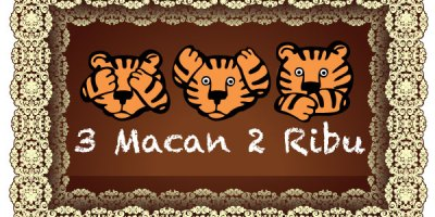 #3Macan2Ribu designed by @lantip