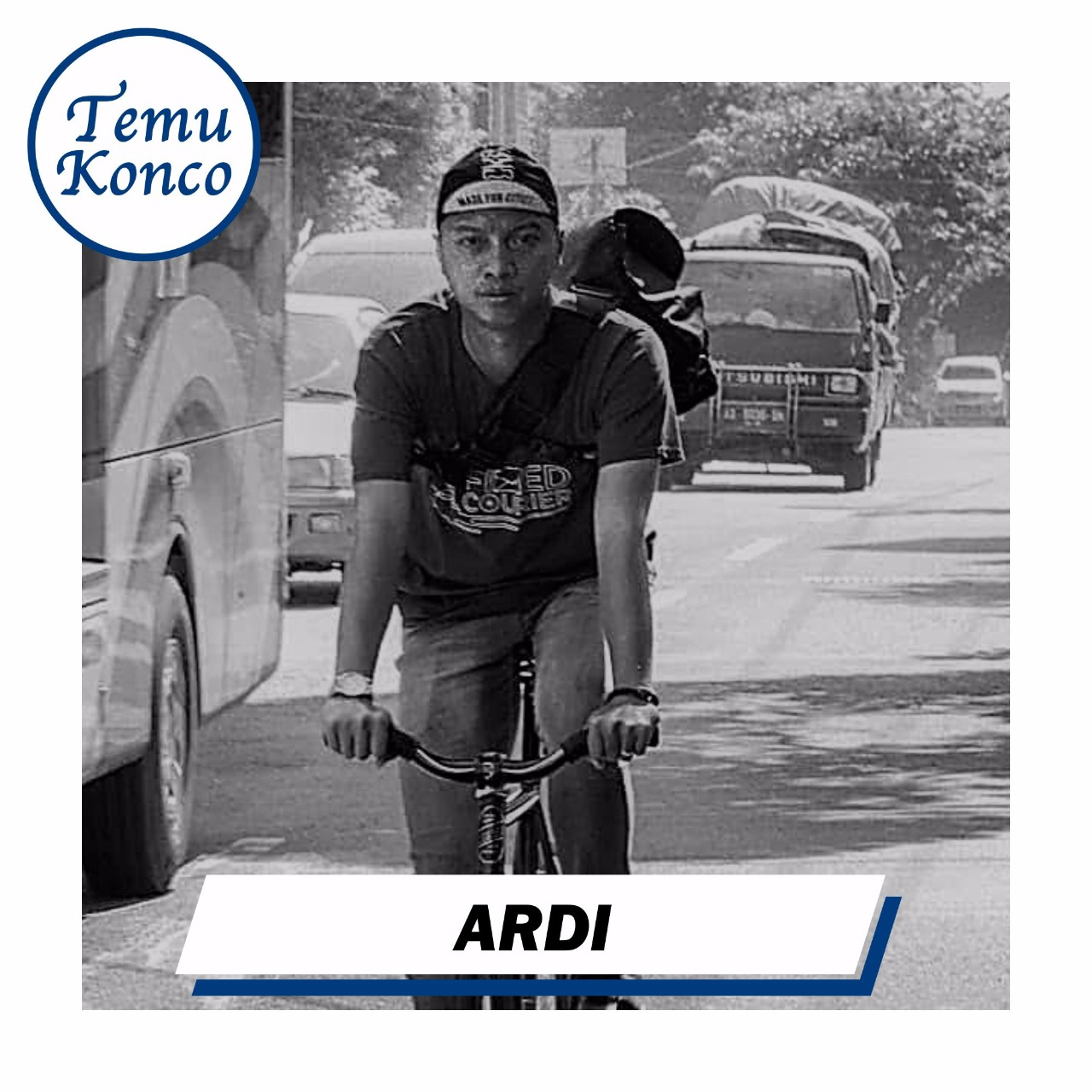 [TemuKonco Podcast Eps. 22] Ardi Qeju - Fixed Courier
