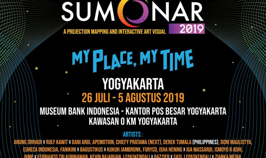SUMONAR Festival Video Mapping Pertama di Indonesia