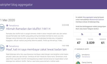 matriphe! blog aggregator