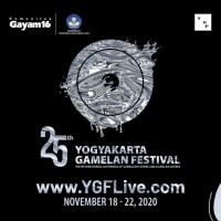 Yogyakarta Gamelan Festival 2020 digelar daring 18 - 22 November 2020