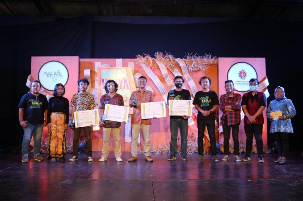 Matra Kriya Fest (MKF) 2020 ditutup dengan pengumuman 4 kategori juara di Pendhapa Art Space, Jogjakarta