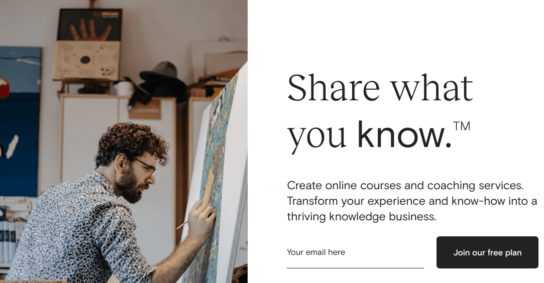Teachable is a third-party LMS solution for online course creators