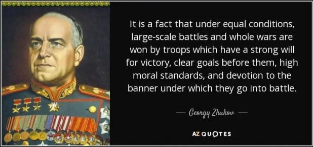Georgy Zhukov Quote